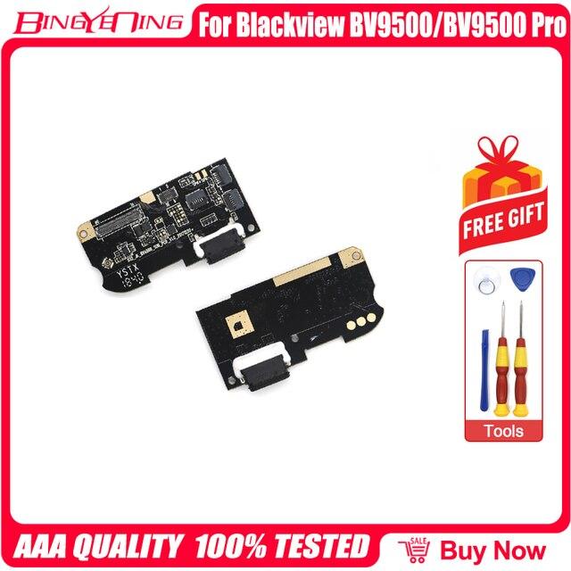 100% 新のためのオリジナルusb充電ポートボードusbプラグblackview BV9500/ BV9500 プロ修理交換アクセサリー部品