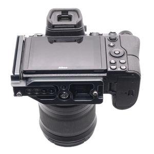 Image 4 - Hot 3C Quick Release Plate Xtendable L Shape Vertical Shoot Hand Grip Qr Camera Bracket Holder For Nikon Z7 Z6 Arca Swiss Rrs