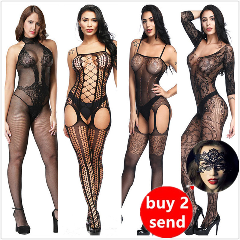Lingerie Teddies Bodysuits Hot Erotic Lingerie Open Elasticity Mesh Body Stockings Hot Porn Sexy Underwear Costumes Body Suit