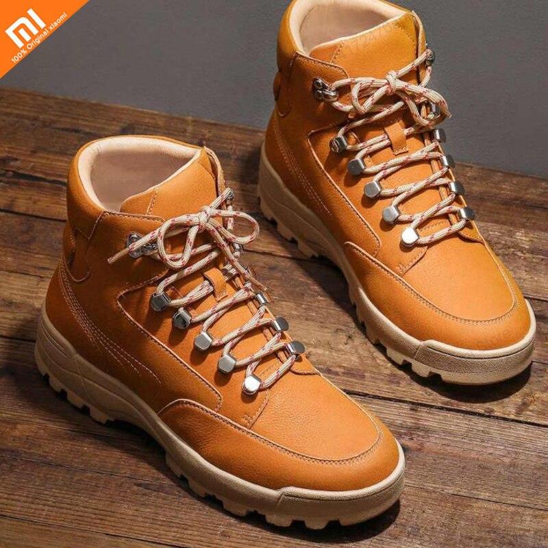 Xiaomi sports et loisirs marée outillage bottes rétro mode chaussures pour hommes semelles antidérapantes chaussures pour hommes smart