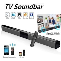 2019 New Wireless Bluetooth Soundbar Speaker TV Home Theater Soundbar + Remote Control