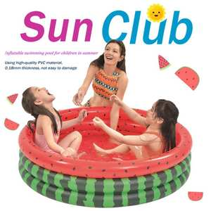 Swimming-Pool Bath-Tubs Baby Inflatable Kids Paddling Round Outdoor Children PVC Float