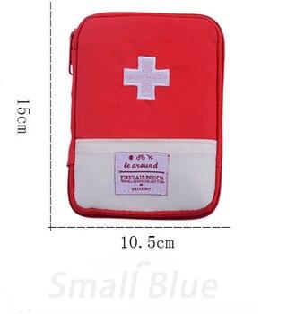 Φορητή Τσάντα Αποθήκευσης Φαρμάκων Για Ταξίδια Υπαίθρια Αθλήματα Camping Επιβίωση Ασφάλεια Χόμπι MSOW