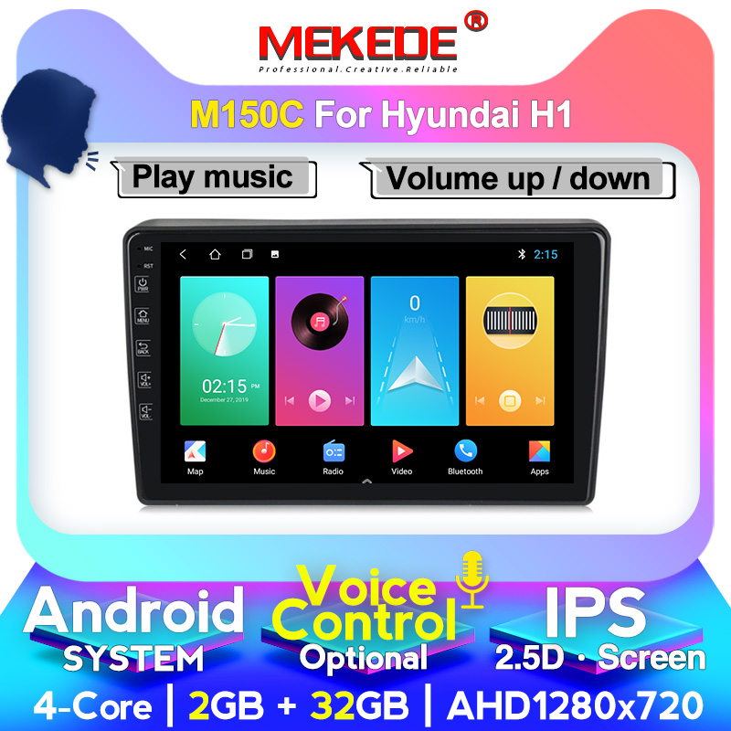 MEKEDE M400 Android system 4+64g Car Multimedia DVD player for <font><b>Hyundai</b></font> H1 Grand Starex 2007-2015 Radio audio WIFI GPS image