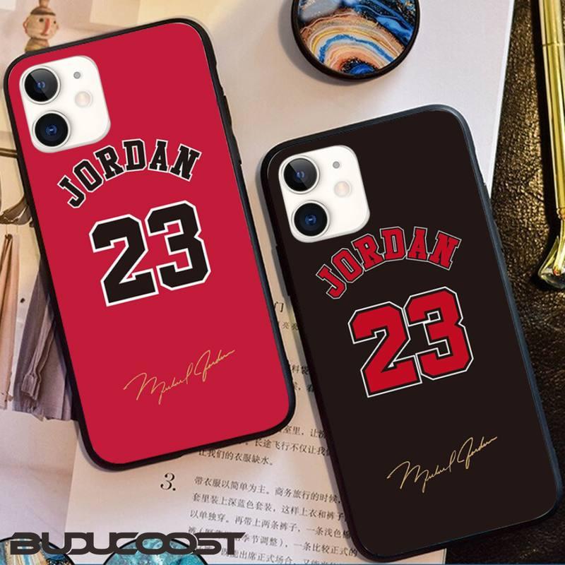 kenzoe Basketball 23 Jordan Phone Case For iPhone 12 11 Pro Max SE XSmax XR XS X 8 7 6 Plus
