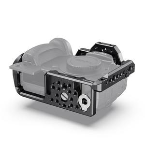Image 5 - SmallRig для Panasonic Lumix GH5 /GH5S клетка для камеры с резьбой 1/4 3/8 отверстия + крепление для холодной обуви Набор рельсов NATO 2646