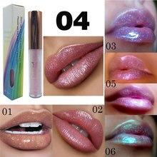 Plumper Crystal Glow Lip Gloss Laser Holographic Tattoo Moisturizer Liquid Lipstick Mermaid Pigment Glitter Lipgloss Makeup