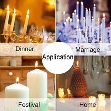 촛불 만들기 키트 DIY 촛불 공예 도구 촛불 쏟아져 냄비와 스푼, 100Pcs 촛불 Wicks 및 촛불 Wicks 스티커,