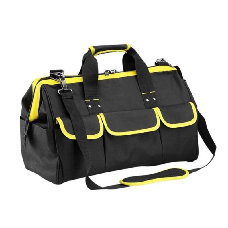 Multi-Function Tool Bag Thick Oxford Cloth Tool Storage Bag Hand Shoulder Shoulder Dual-Use Tool Kit Repair Tool Storage Bag