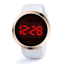Men Led Digital Watches Fashion Touch Screen Watches Men Sports Watches Silicone Watch reloj hombre montre homme erkek kol saati