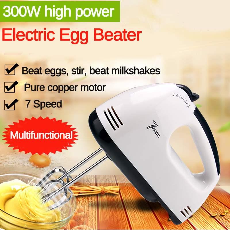 7 Speed Manual Mini Dough Hand Mixer Food-Blender Handheld Multifunctional Food Processor Automatic Electric Kitchen Mixer Tools