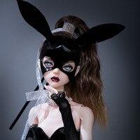 BJD Dolls Vojta 1/4 Female Ball Jointed Doll High Fashion Hobby Collection Bunny Girl Model Ballet Dancer Shuga Fairy