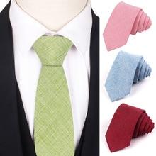 Solid Neck Tie For Men Women Polyester Leisure Ties Suits Classic Wedding Business Slim Necktie Adult Gravatas