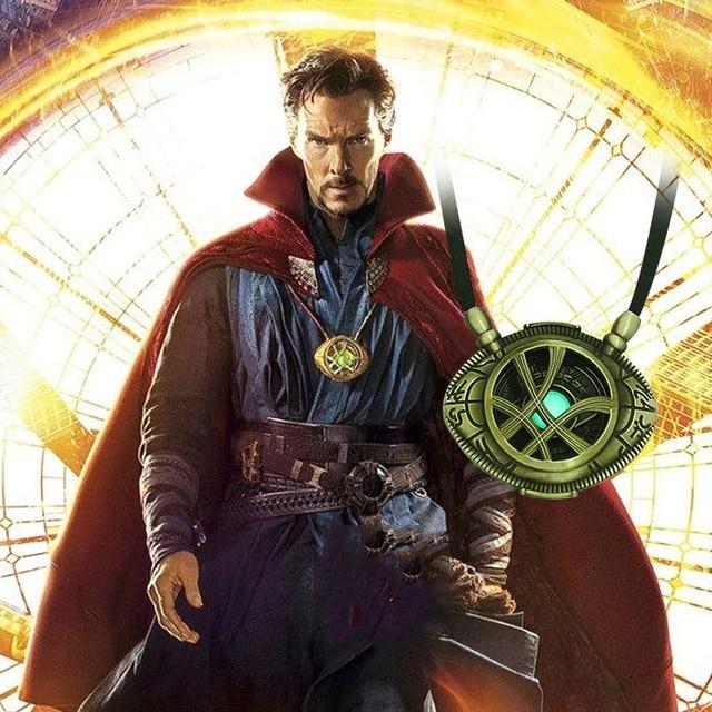 Doctor Strange Infinity War Eye of Agamotto Necklace Pendant (6 Designs) 2