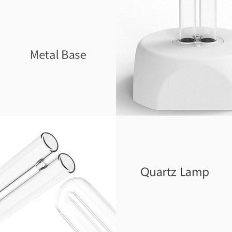 uv ozonio germicida lampada branco puro