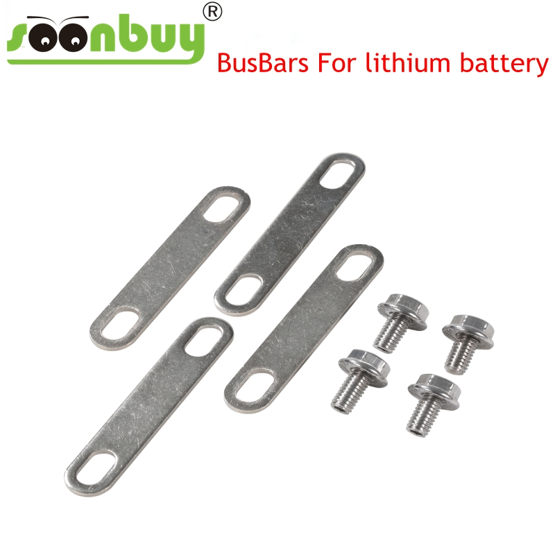 H62 Brass Nickel-plated BUSBAR Nickel Plate For Lithium 3.7V 3.2V 120ah 123ah 130ah Lifepo4 Battery Connector Anti-oxidation