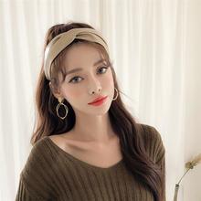 Повязка на голову в Корейском стиле с узором «крокодиловая кожа»;