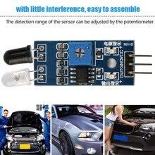цена на Super Deals 1Pc IR Infrared Obstacle Avoidance Sensor Module for for Arduino Smart Car Robot Mini Size Light Weight