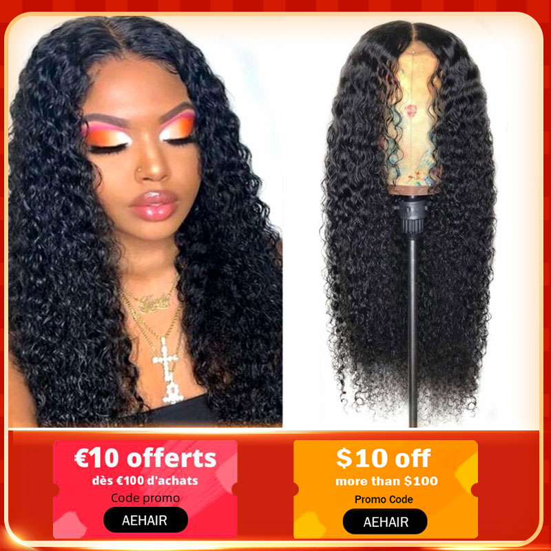 Curly Human Hair Wigs 13x4 Malaysian Lace Front Human Hair Wigs For Black Women Lace Front Wig Pre Plucked With Baby Hair