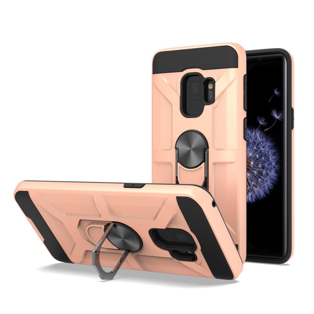 5 Pcs Hybrid Armor Case Magnetic Ring Stand Kickstand Phone Case For LG K51 K50 K50S K40S Stylo 5 Stylo 6 V50 V50 Thinq