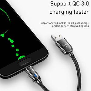 Image 4 - 10Pcs/lot Mcdodo Micro USB Cable 3A Fast Charging Auto Disconnec For Samsung S7 Xiaomi Redmi Tablet Android Phone Charger Cord