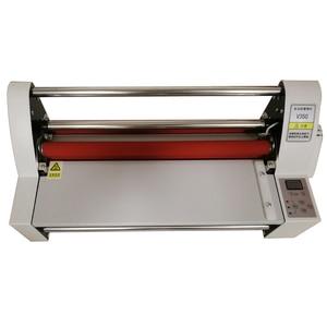 "Image 3 - Hot Roll Laminating Machine 13""  V350 Cold Hot laminator Four Rollers Heating Mode Sealing Width 35cm 220v/110V 1pc"