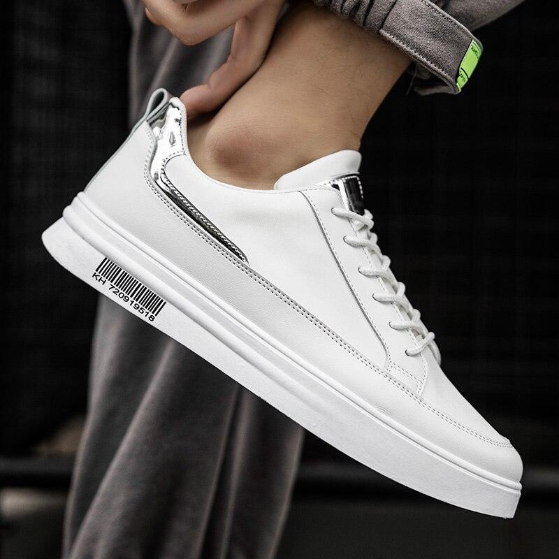 Новинка, Мужская маленькая белая обувь, оптовая продажа, трендовая Корейская Весенняя Студенческая обувь для скейтборда, Мужская обувь для ...