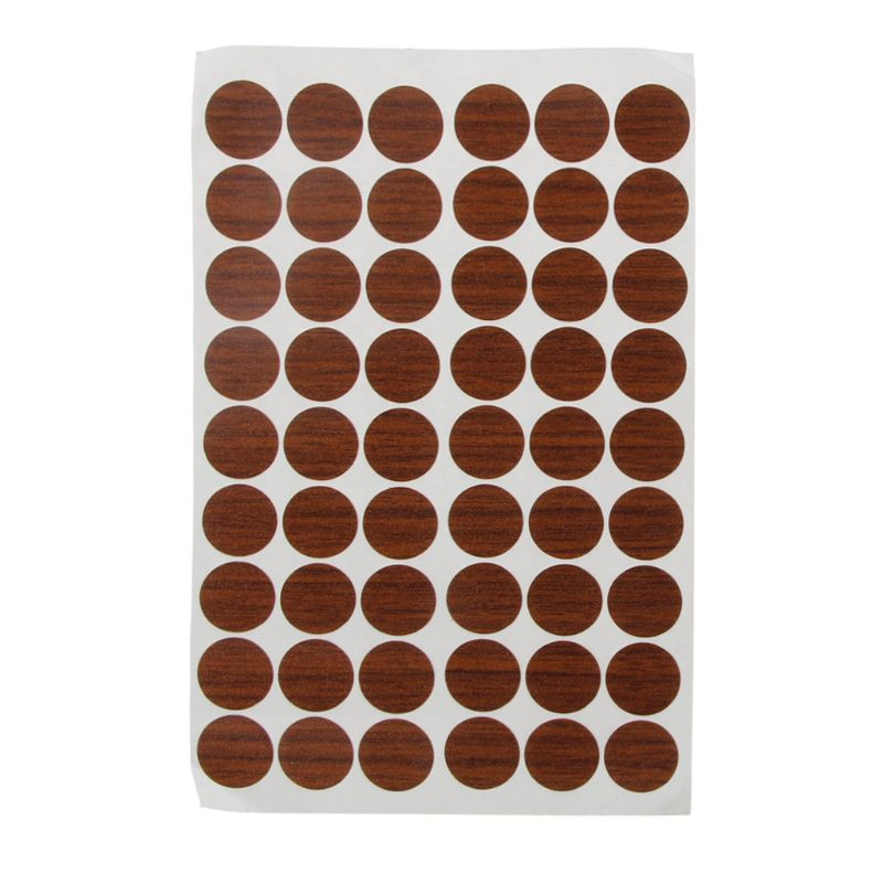 2020 New 60Pcs 20mm Wooden Furniture Self Adhesive Cabinet Screw Cap Covers Hole Stickers
