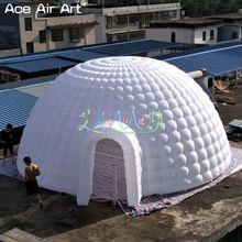 Огромный надувной кемпинговый надувной купол палатка надувной купол здания