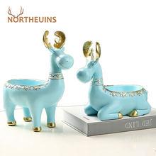 Пластиковые мини фигурки northeuins для хранения оленей аксессуары