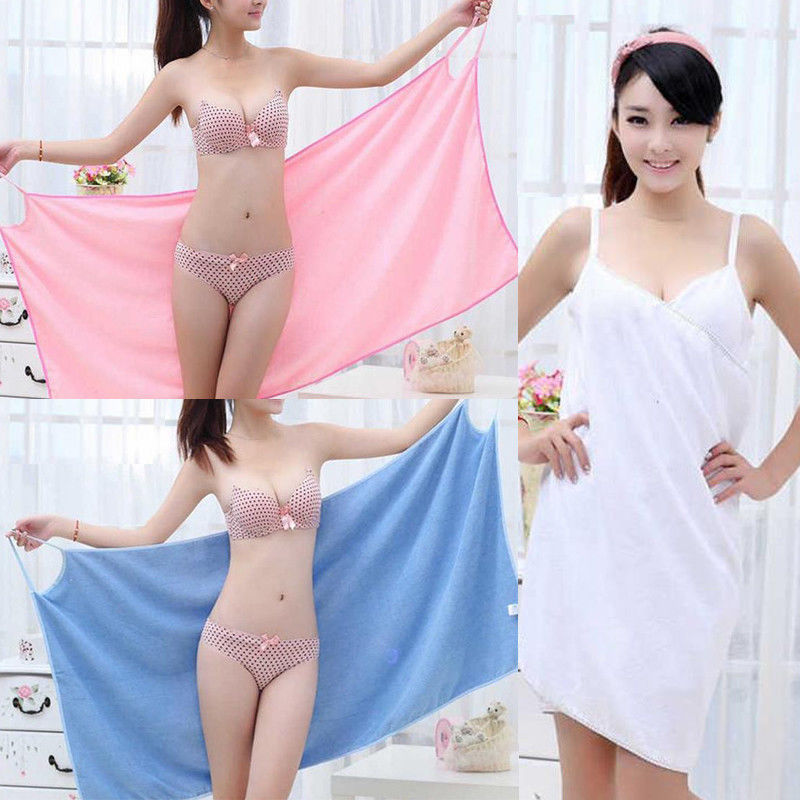 Новинка ванна полотенца мода леди пригодность для носки быстрое сушка волшебство пляж спа халат юбка