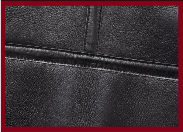 Ha380199fa97d4da1956973f405a73fe7S Free shipping,Sales Winter Sheep fur coat,100% wool Shearling jacket,warm leather sheepskin coat.plus size classic motor style