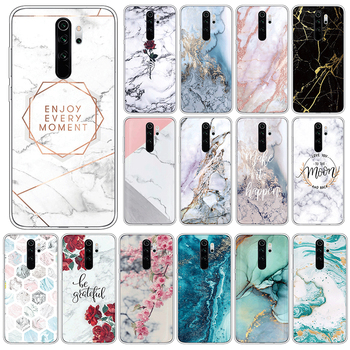 Marble Case For Xiaomi Redmi Note 8 Pro Soft Silicone Cover For Xiomi Redmi Note8 Pro Note8Pro 6.53 Phone Cases TPU Funda Coque image