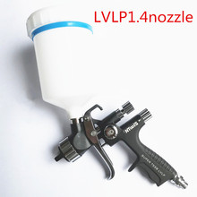 Car-Paint-Repair Nozzle-Lvlp Sprayer-Gun W/t-Tank Black Pistol T-55P Environmental-Protection