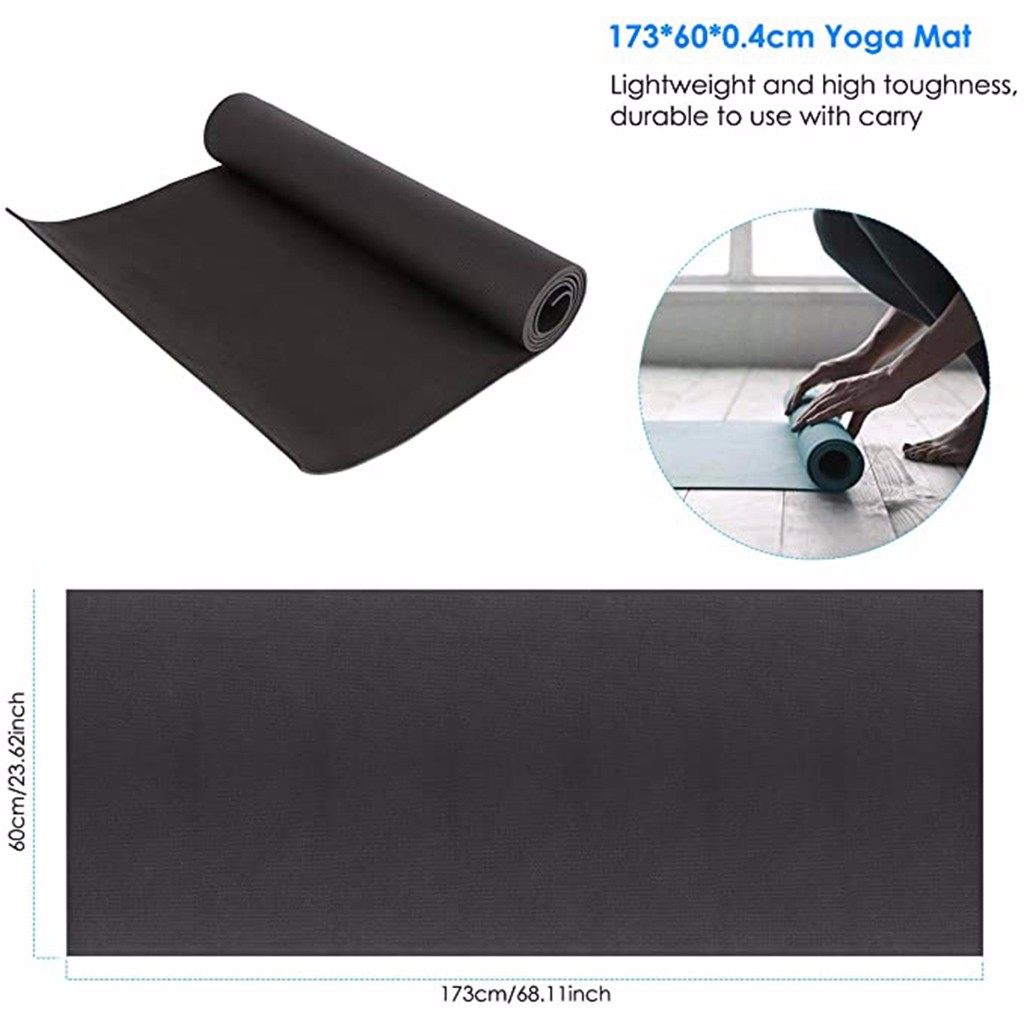 4MM EVA Yoga Mat Non Slip Carpet Pilates Gym Sports Exercise Pads for Beginner Fitness Environmental Gymnastics Mats#20