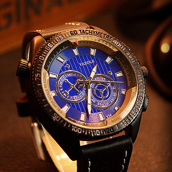 YAZOLE Men Watch Top Luxury Brand Sport Watches Mens Quartz Wristwatch Male Clock Relogio Masculino YZL334 - sale item Men's Watches