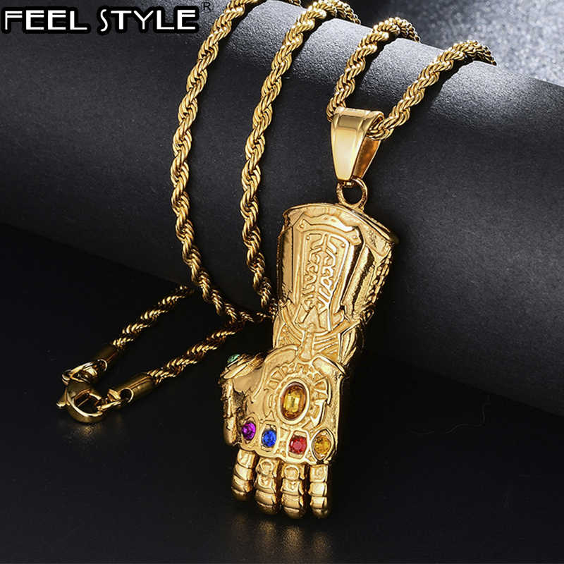 Men Favorite Stainless Steel Razor Blade Pendant Fashion Ball Chain Necklace RS