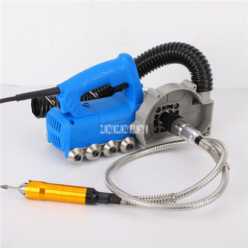 Household Electric Tile Gap Crevice Cleaning Machine Slotting Tool Tile Joint Cleaner Tile Joint Cleaning Machine 220v 850W