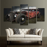 Vintage Car Canvas Painting Retro Cars Wall Art Posters And Prints Wall Pictures For Living Room Decoration