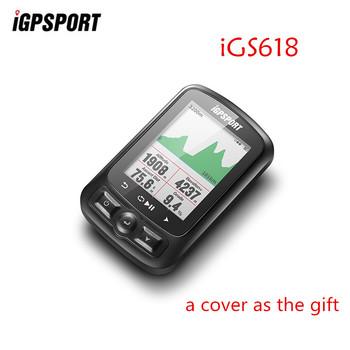 IGPSPORT IGS618 ANT + GPS komputer rower Bluetooth bezprzewodowy stoper wodoodporny rower rowerowy czujnik prędkościomierz komputer tanie i dobre opinie Wireless Stopwatch red-black white-black blue-black S60 S80
