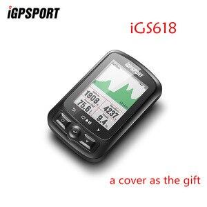 Image 1 - IGPSPORT IGS618 ANT+ GPS Computer Bike Bicycle Bluetooth Wireless Stopwatch Waterproof Cycling Bike Sensor Speedometer Computer