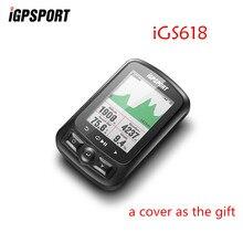 IGPSPORT IGS618 ANT + GPS Computer Bike Fahrrad Bluetooth Drahtlose Stoppuhr Wasserdicht Radfahren Bike Sensor Tacho Computer
