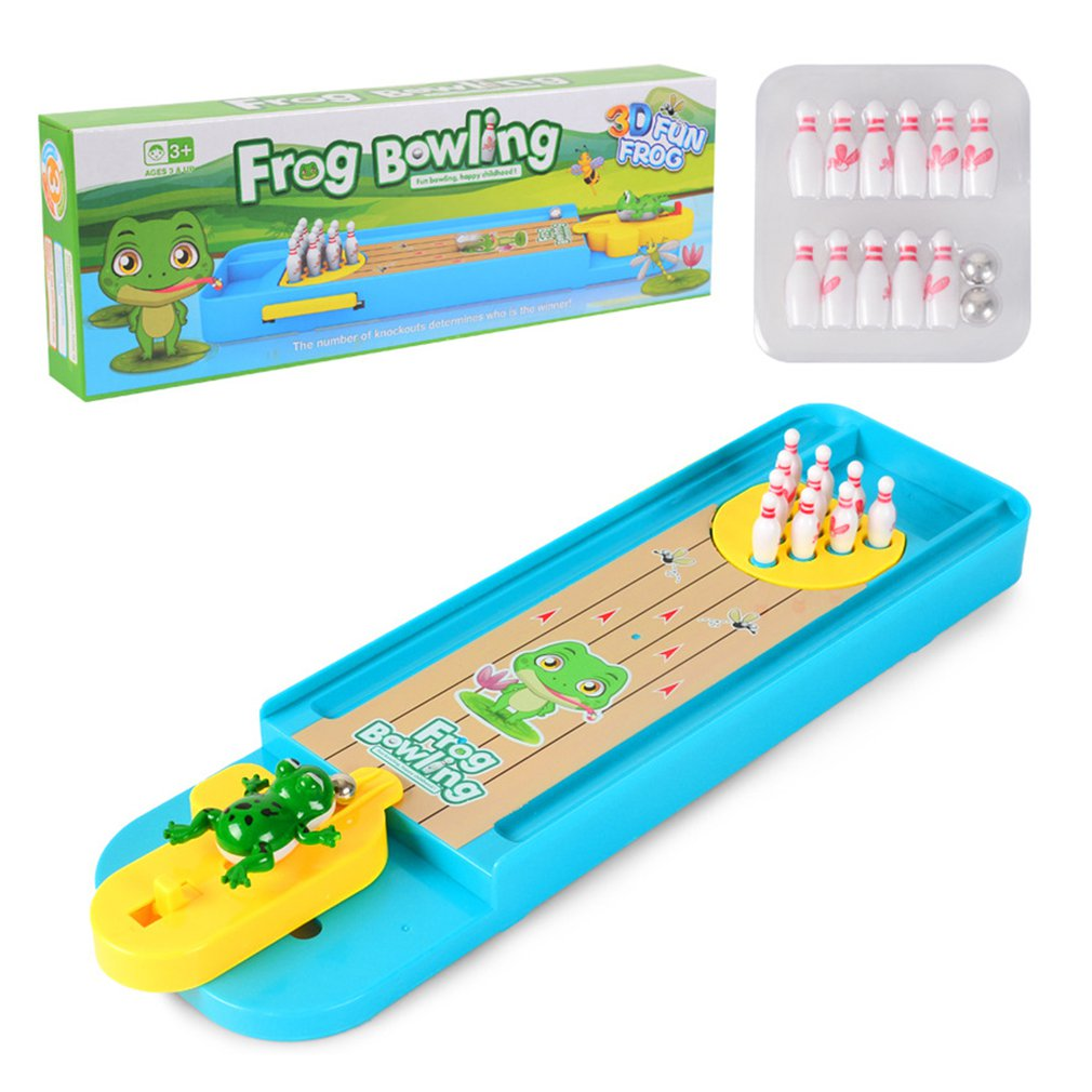 Children'S Puzzle Board Game Interactive Creative Mini Bowling Marble Interactive Board Game Children Toys