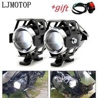 Faros de motocicleta lámpara auxiliar U5 led foco 12V DRL para BMW R1250GS R1200R R1200RT R1200S R1200ST S1000R S1000RR