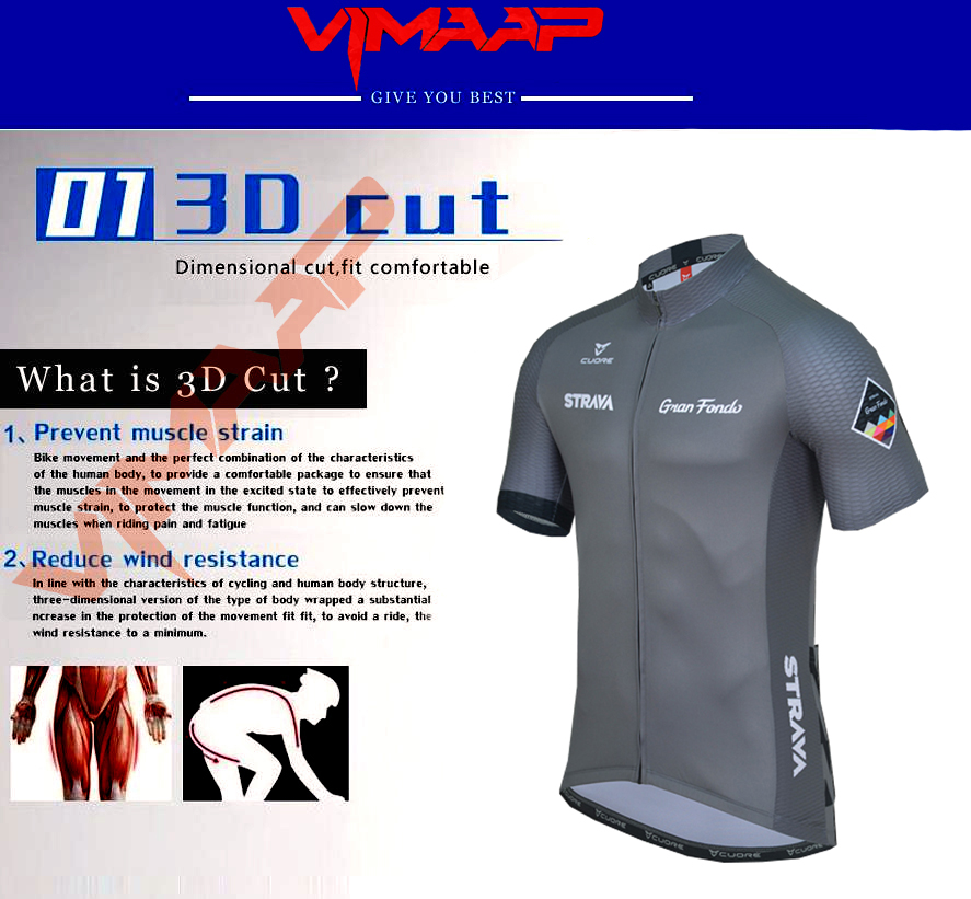 2020 New STRAVA Summer Cycling Jersey Set Breathable Team Racing Sport Bicycle Jersey Mens Cycling Clothing Short Bike Jersey NW 2