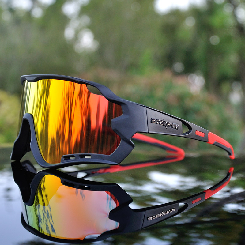 2019 Men Women Polarized Cycling Glasses UV400 Cycling Goggle TR90 Cycling Eyewear Outdoor Sports Cycling Sunglasses 4 Lens3 lensbicycle polareyewear sport -