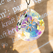 H & D 76 мм Хрустальное окно Висячие призмы Suncatcher стеклянная подвеска люстра лампа украшение в виде призм Сделай Сам домашний Свадебный декор