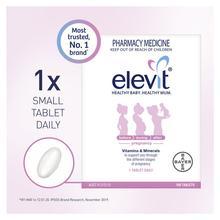 Australia Elevit Pre-Conception Pregnancy Compound Vitamins for Women Fertility Baby Health Folic Acid Multivitamins Supplement