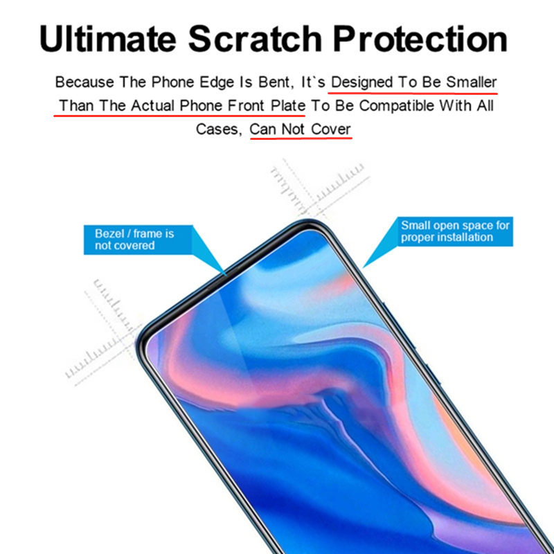 Image 4 - 2PCS Tempered Glass For Huawei P Smart Z Screen Protector Toughened Glass For Huawei P Smart Z 2019 Glass For Huawei P Smart Z-in Phone Screen Protectors from Cellphones & Telecommunications