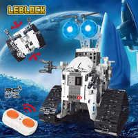 Creador mecánico coche de pista técnica de control remoto inteligente rc Robot ladrillos moc juguetes educativos para los niños Modelo compatible